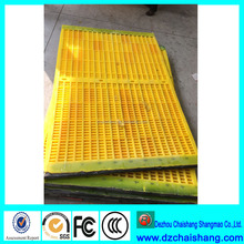 retractable screens polyurethane finger screen mesh nature rubber gravel ore mesh