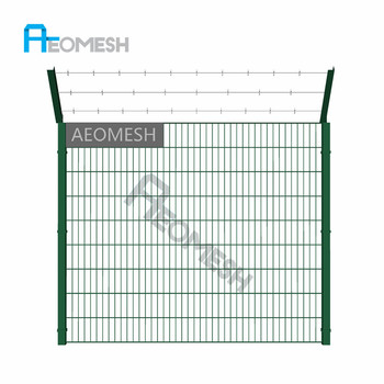 Iron wire Mesh / Garden bed fence / Metal fence panel