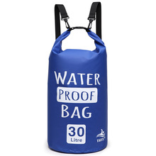 OEM Custom Folding Portable Outdoor Travel Swimming  2L-30L Ocean Pack pvc backpack floating waterproof dry bag for outdoor