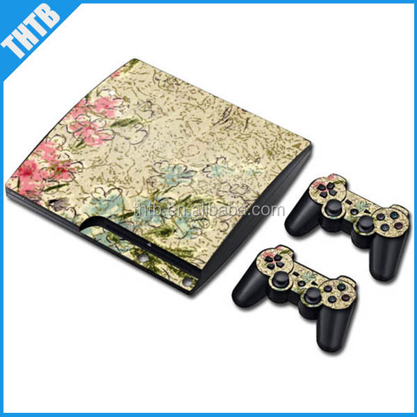 High quality repair parts vinyl decal skin for PS3 slim wholesale