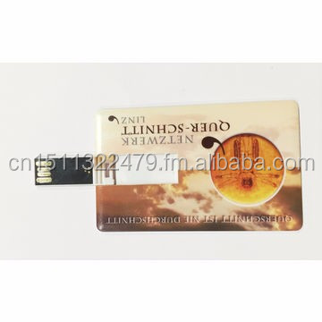 Logo Printing Customized Bank Card Name Card Usb Flash Drive SK-208 USB2.0 for Christmas New Year Gifts Gadget Promotional Item