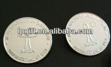 2013 hot sale and new arrival OEM and ODM gold coating coins
