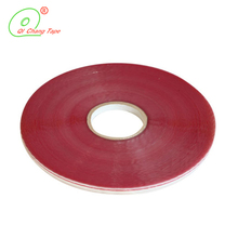 Excellent quality red line printed resealable sealing adhesive tape