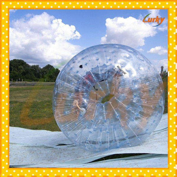 Grass zorb balls/kids inflatable sport zorb ball/funny inflatable grass zorb ball for selling