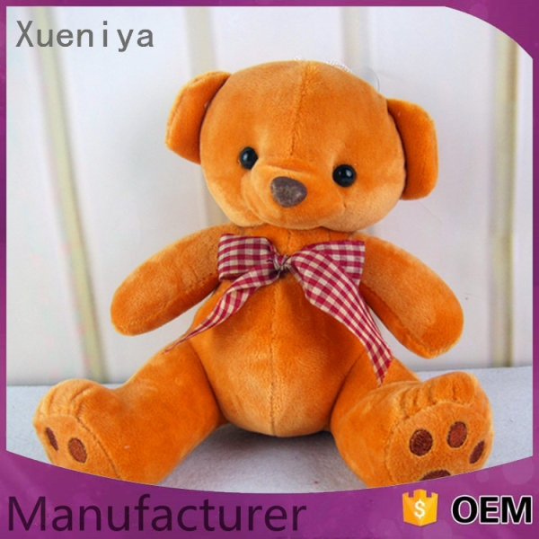 china products promotional fashiobale custom bear animated plush animal