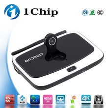 1chip 2017 New customized launcher google android 4.4 quad core RK3188 android 1080p mkv wifi tv box