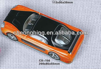 car shaped tin box