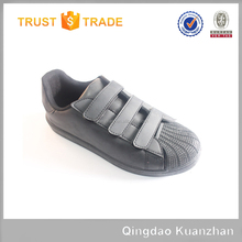 Wholesale Low Price canvas shoe buckle strap children soft sole shoes