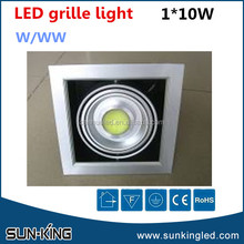 Modern custom-made 4000k-4500k 110V 220V grille led bean pot lamp 10W