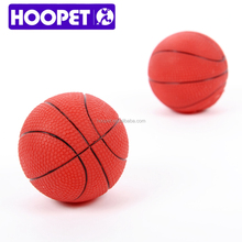 HOOPET soft squeaky pet toy for small animal dogs treat basketball