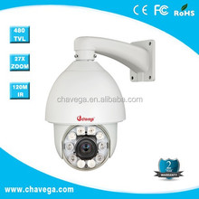 "network 1/4"" sony effio ccd ip security dome camera with CE FCC ROHS certificate"