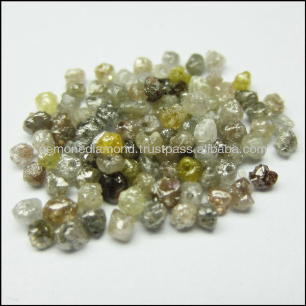 Earthmined Loose 100% Natural Diamonds Beads In Mix Color