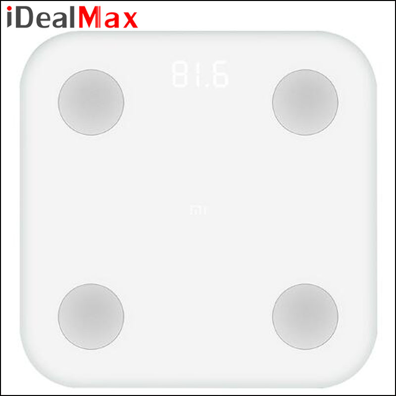 Original Xiaomi Smart Body Fat Scale With Mifit APP Body Composition Monitor With Hidden LED Display Big Feet Pad Weighing Scale