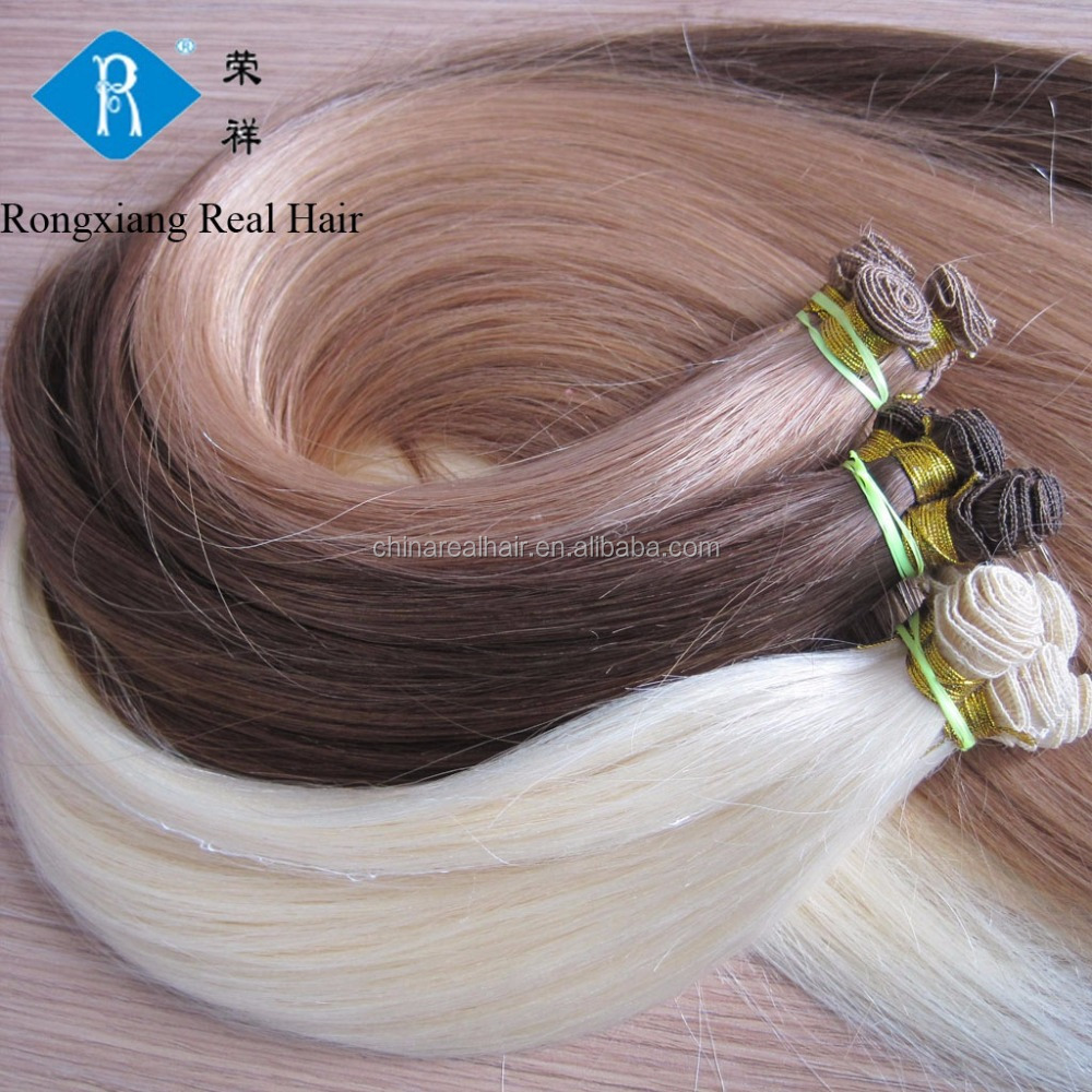 Best selling private label natural real human micro thin weft hair extension