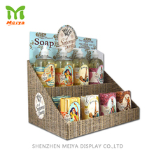 Hot Sale Retail Custom Design Promotional Counter Cardboard Soap Display For Sale
