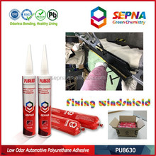 non-sagging auto glass sealant, polyer sealant for windshield direct glazing bonding and sealing