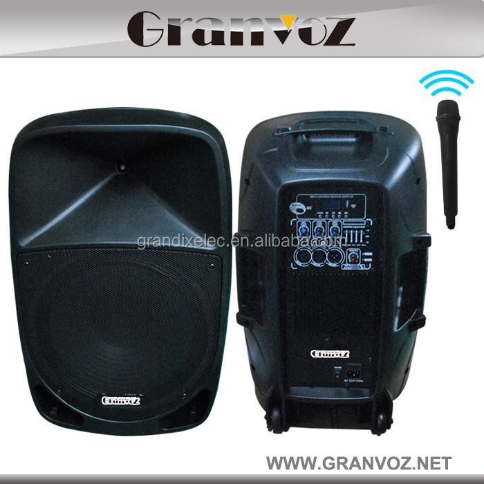 PP-0115A 15 inch big stage active portable wireless bluetooth speaker