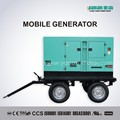 Move Diesel Generator Trailer Truck Mobile Generator Set