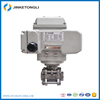 SS316 t-type electric ball valve 24v