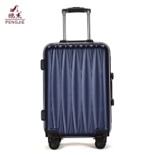 cheap aluminum frame hard shell trolley luggage case suitcase set