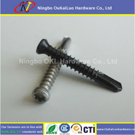 Flat Head Trim Head Tek Screws