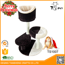 Christmas Decor Stocked,Eco-Friendly Feature Simple Wooden Cat Tree