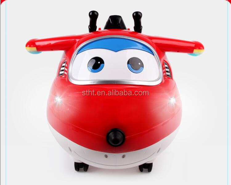 2.4G fashion cool Super Wing electric ride on car for kids