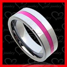 Wholesale tungsten carbide jewelry simple silver wedding ring design for women