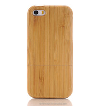 Natural Wooden Case Elliptic Camera 4.0 inches Cell Phone Cover Cell Phone Cover for Iphone5/5s/5 se