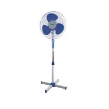 16D Blue 16&quot; 12V DC Solar Stand <strong>Fan</strong> Adjustable 16in Oscillating Pedestal Solar Standing <strong>Fan</strong>