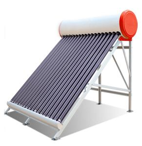300 l Eco-Friendly portable hot selling heat pipes solar water heater