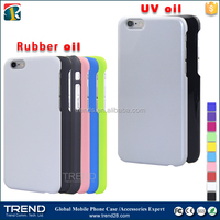 news uv oil coating cover case for iphone6 6s