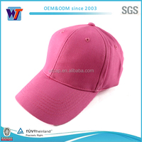 Cheap blank solid color baseball cap fitted sports cap