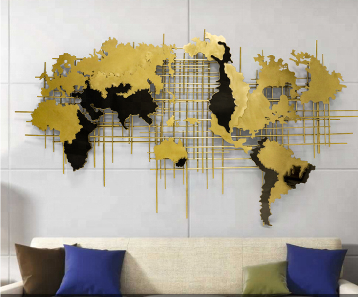Interior Metal World Map Wall Art Sculpture - Buy World Map Sculpture,World  Map Wall Art,Metal World Map Sculpture Product on Alibaba.com