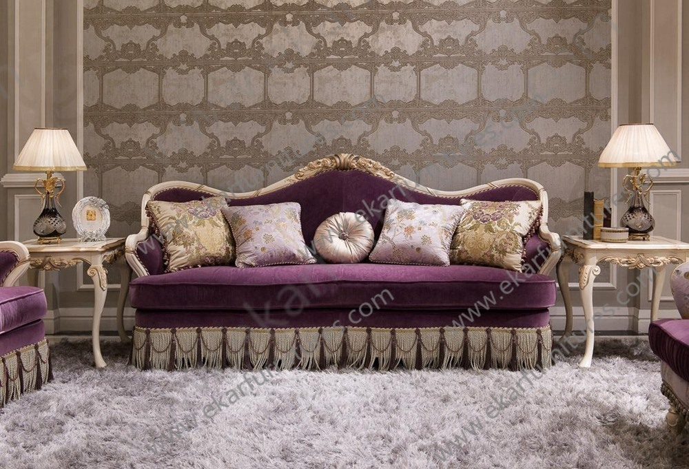 Queen beauty salon furniture for sale soft in purple for Salon sofa for sale