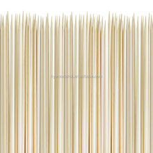 Disposable BBQ 18 Round Bamboo Skewers