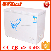 unibody design ultra low temperature freezer wholesale deep freezer BD-259 256L