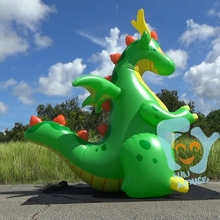 wholesale cheap custom advertising inflatable sea dragon