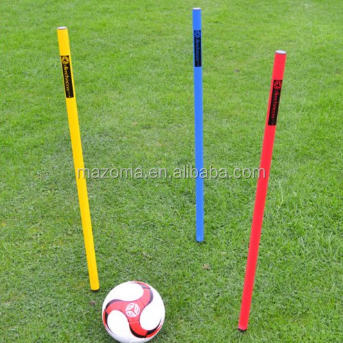 Sports Agility soccer / football training slalom poles