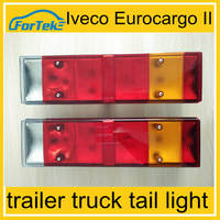 bus truck tail lights for volvo iveco truck tail lamp 24V 7 function