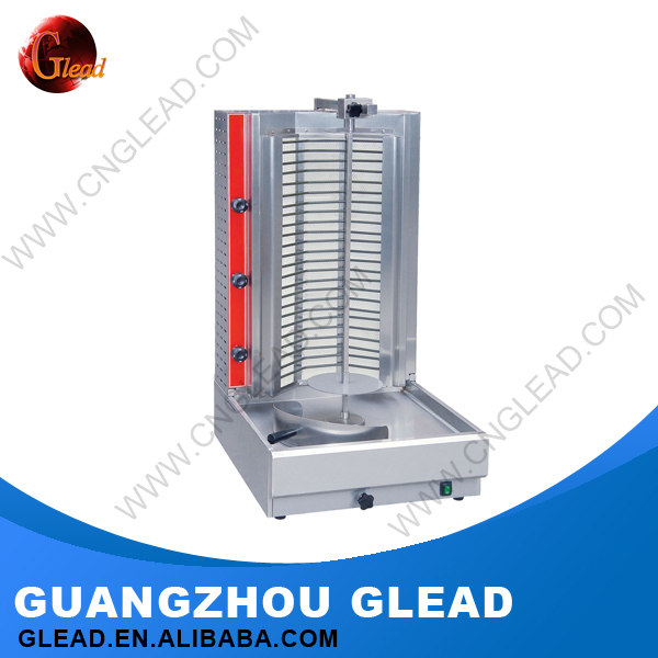 2016 new arrival Guangzhou heavy duty electric doner kebab grill machine