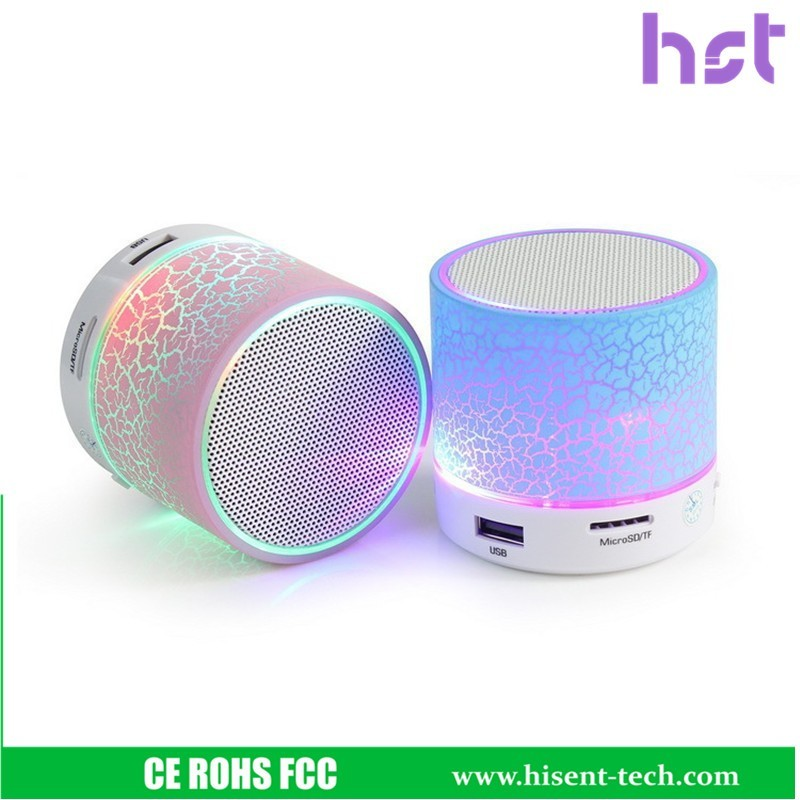 Hot new products for 2016 mp3 player bluetooth speaker with led light music mini bluetooth speaker