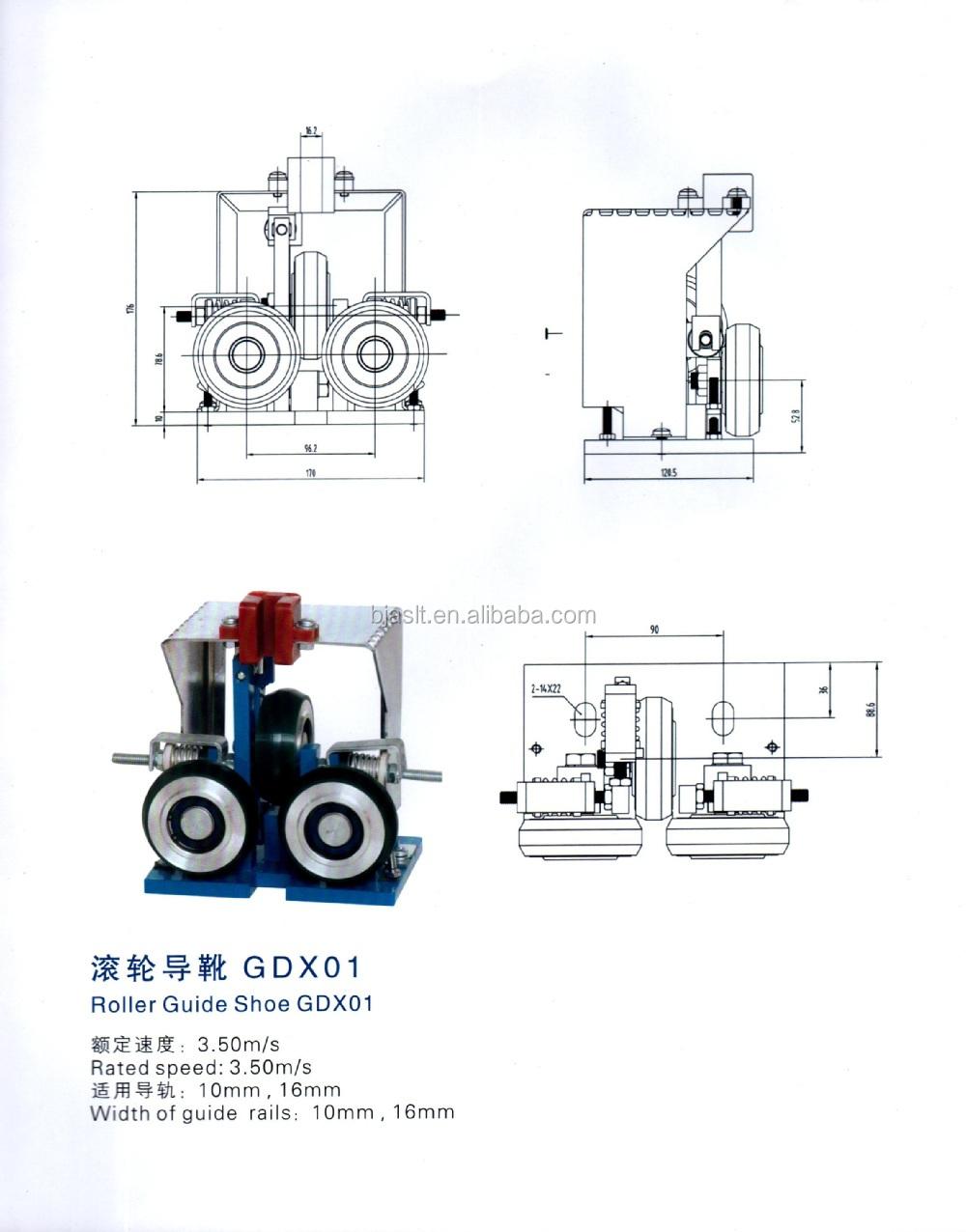 Elevator Roller Diagram Electrical Wiring Diagrams Otis Guide Shoe Parts Buy Door Schematics