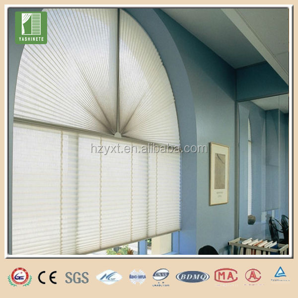 Practical fancy cellular roman pleated shades window sunscreen