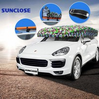 SUNCLOSE Factory car parking tents for sale mpv & suv vehicle auto sunscreens for windshield insulated car covers sunshade