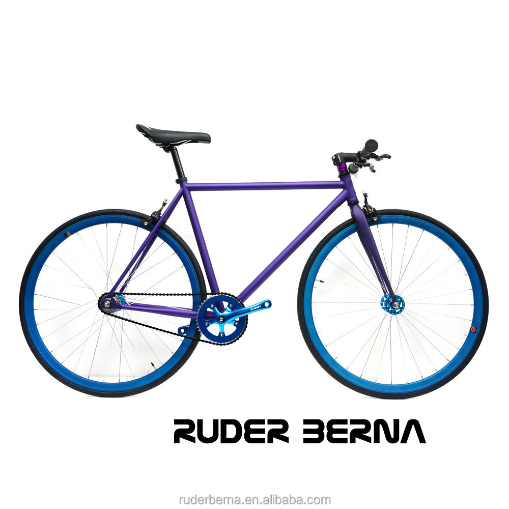 Ruder Berna Taiwan Made bicycle brands cyclocross bike carbon complete girls purple bicycle