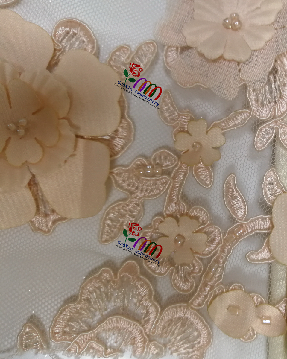 China garment accessories, fashion lace fabric wholesale in GuangZhou, factory price