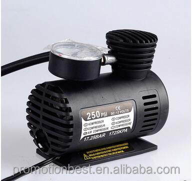 300PSI 12V Mini Car Air Compressors Pump Car Tire Inflator