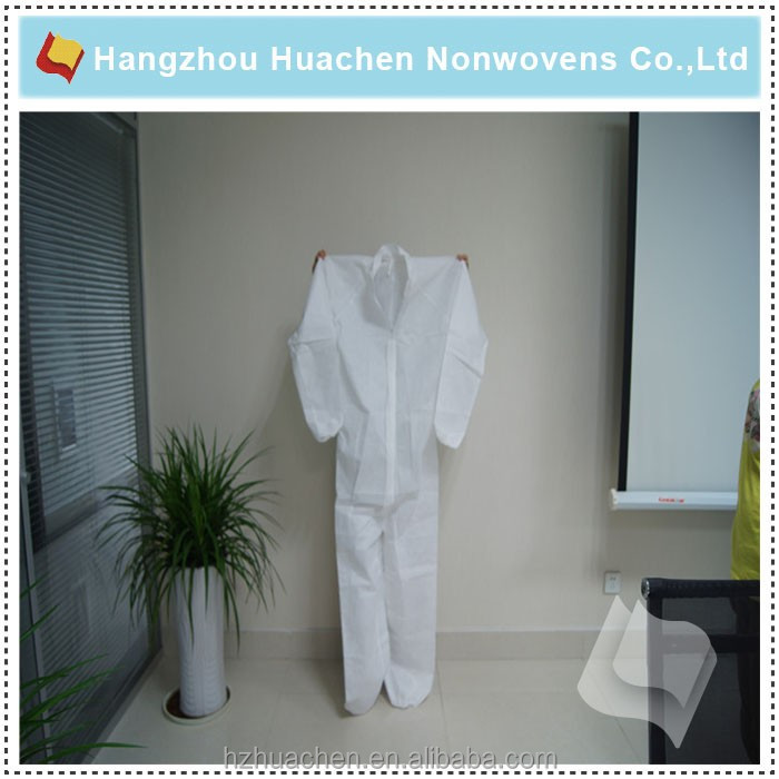 Biodegradable PP Film Lamination SMS Nonwoven Surgical Gown