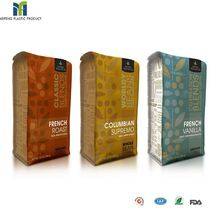 hot sale glossy food packaging custom printed colombian coffee packaging